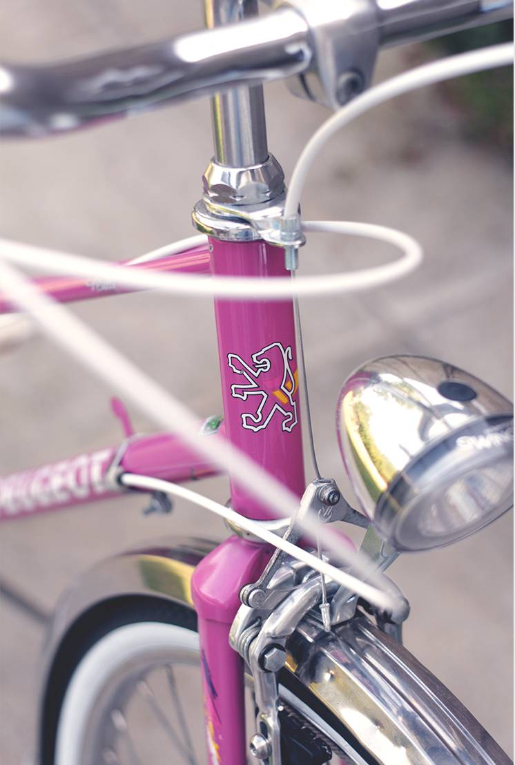 Pink Peugeot Neuilly 1989 - Mighty Mess VŽlos